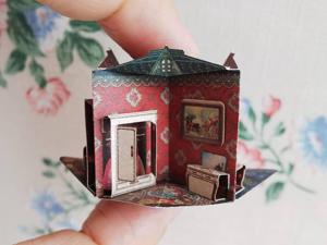 Домики с ноготок: миниатюрные pop-up книги. Ярмарка Мастеров - ручная работа, handmade.