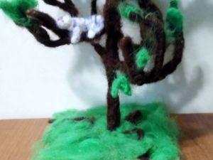 Дерево на каркасе. Ярмарка Мастеров - ручная работа, handmade.