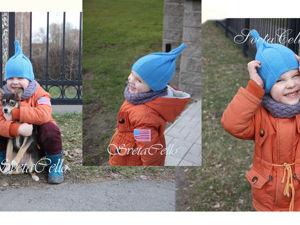 Вяжем детскую шапочку «Луковка» спицами. Ярмарка Мастеров - ручная работа, handmade.
