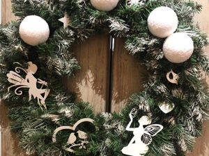 А что важнее — новогодняя ёлка или игрушки на ней. Ярмарка Мастеров - ручная работа, handmade.