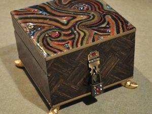 Декорирование шкатулки в стиле китч. Часть 5. Ярмарка Мастеров - ручная работа, handmade.