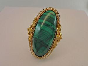 Видео: Кольцо  «МалА-ХиТ» ,серебро,малахит,жемчуг. Ярмарка Мастеров - ручная работа, handmade.