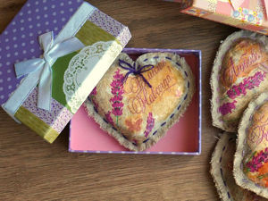 A St. Valentine's DIY Project: Making a Lavender Heart. Livemaster - handmade