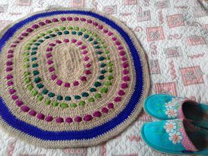 Стихи, которые вдохновили меня на создание коврика  «Васильки». Ярмарка Мастеров - ручная работа, handmade.