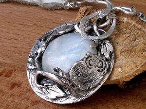 Украшения из пластичного серебра. Ярмарка Мастеров - ручная работа, handmade.