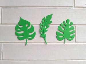 Новинки — вырубка листочки и надписи. Ярмарка Мастеров - ручная работа, handmade.