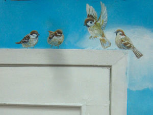 Как я расписываю стены. Ярмарка Мастеров - ручная работа, handmade.