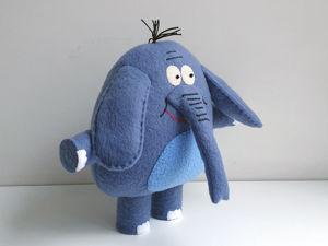 Слон Родион мягкая игрушка. Ярмарка Мастеров - ручная работа, handmade.