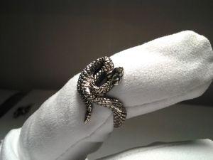 Видео:Кольцо  «Змейка» ,серебро. Ярмарка Мастеров - ручная работа, handmade.