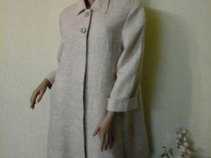 Весенняя льняная одежда. Ярмарка Мастеров - ручная работа, handmade.