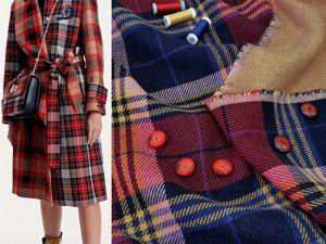 Двухслойная двусторонняя пальтовая ткань. Ярмарка Мастеров - ручная работа, handmade.