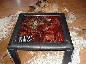 Столик в африканском стиле. Ярмарка Мастеров - ручная работа, handmade.