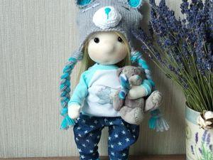 Штанишки-галифе для текстильной куклы. Ярмарка Мастеров - ручная работа, handmade.