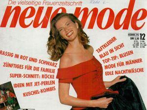 Neue mode 12 1992 (декабрь). Ярмарка Мастеров - ручная работа, handmade.