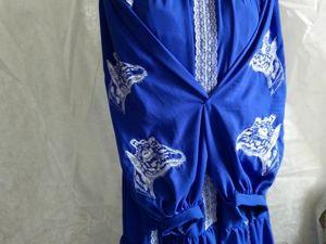 Платье с жирафами. Ярмарка Мастеров - ручная работа, handmade.