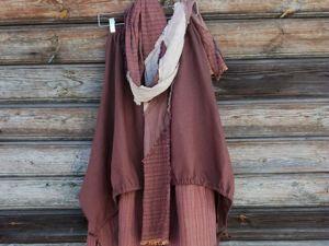-19%  до 13 января на готовые модели льняной одежды в стиле бохо!!. Ярмарка Мастеров - ручная работа, handmade.