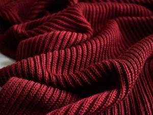 Шарф Maximum dark red. Ярмарка Мастеров - ручная работа, handmade.