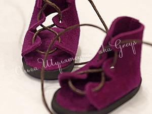 Кукольные сандалии в греческом стиле, которые не нужно шить: мастер-класс. Ярмарка Мастеров - ручная работа, handmade.