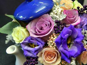 Приглашаем на цветочный чай!. Ярмарка Мастеров - ручная работа, handmade.