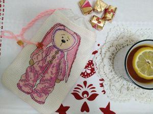 Шьем мешочек с вышивкой Зайка. Ярмарка Мастеров - ручная работа, handmade.