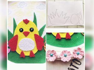Делаем декоративную тарелку  «Пасхальный цыпленок». Ярмарка Мастеров - ручная работа, handmade.