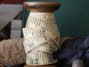 История швейных аксессуаров. Часть 1: сантиметровая лента. Ярмарка Мастеров - ручная работа, handmade.