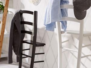 Как сделать оригинальную вешалку из стула. Ярмарка Мастеров - ручная работа, handmade.
