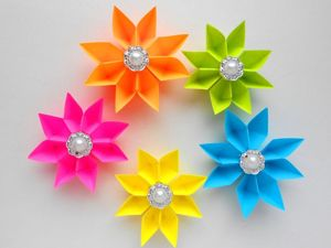 Мастерим бумажные цветы к 8 марта. Ярмарка Мастеров - ручная работа, handmade.