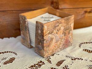 Салфетница  «Foxwood tales»  для Светланы. Ярмарка Мастеров - ручная работа, handmade.