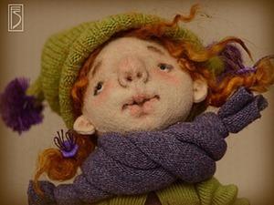 Шьем игровую куклу из фетра для больших и маленьких девочек. Ярмарка Мастеров - ручная работа, handmade.