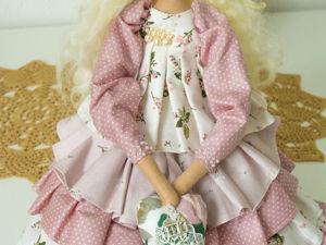 Куколка в розовом. Ярмарка Мастеров - ручная работа, handmade.