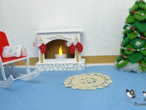 Как сделать кресло-качалку из картона для кукол DIY. Ярмарка Мастеров - ручная работа, handmade.