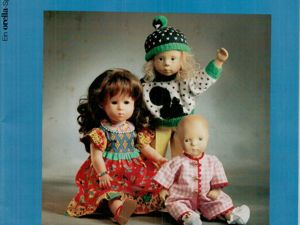 Журнал Alles fur Puppen изд. Habegger AG. Ярмарка Мастеров - ручная работа, handmade.
