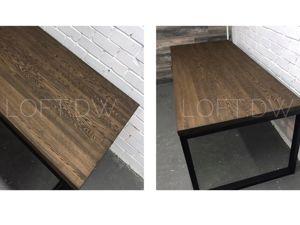 Обеденный стол в стиле лофт. Ярмарка Мастеров - ручная работа, handmade.