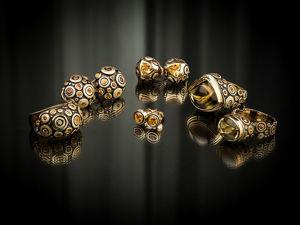 Видео кольца и серег с цитринами и желтыми сапфирами Mosaic. Ярмарка Мастеров - ручная работа, handmade.