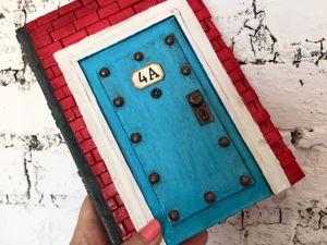 DIY Декор блокнота своими руками. Поделка из картона. Ярмарка Мастеров - ручная работа, handmade.