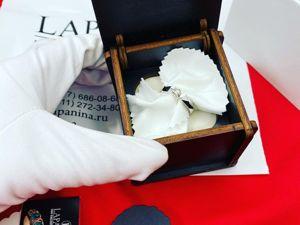 Золотое кольцо с бриллиантом изготовили под заказ. Ярмарка Мастеров - ручная работа, handmade.