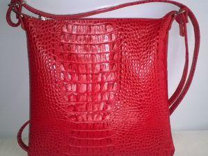 Весенний Многолотовый аукцион сумок из кожи !!. Ярмарка Мастеров - ручная работа, handmade.
