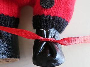 Ботиночки для куклы за 15 минут. Ярмарка Мастеров - ручная работа, handmade.