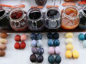 Красим яйца натуральными красителями. Обзор. Ярмарка Мастеров - ручная работа, handmade.