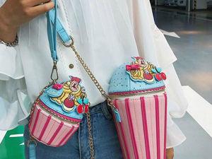 Модные сумочки для сладкоежек. Ярмарка Мастеров - ручная работа, handmade.