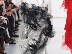Волшебство фатина в совместном творчестве John Galliano и Benjamin Shine для Maison Margiela Artisanal. Ярмарка Мастеров - ручная работа, handmade.
