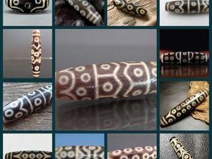 Особенности бусин дзи с изображением разного количества глаз. Ярмарка Мастеров - ручная работа, handmade.
