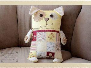 Шьем подушку-игрушку в виде собаки — символа 2018 года. Ярмарка Мастеров - ручная работа, handmade.