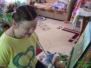 Попробуйте выиграть мою картину!. Ярмарка Мастеров - ручная работа, handmade.