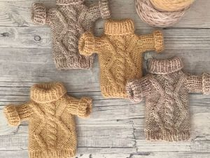 Knitting a Warm Jumper for Your Favourite Toy. Livemaster - handmade