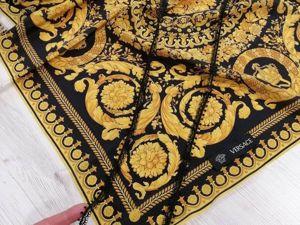 Брендовый натуральный шелк на платки и др. Ярмарка Мастеров - ручная работа, handmade.