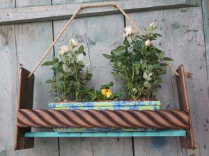 Делаем кашпо и ящик для цветов. Ярмарка Мастеров - ручная работа, handmade.