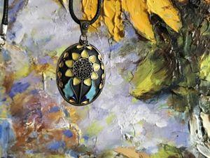 Цветы в украшениях. Ярмарка Мастеров - ручная работа, handmade.