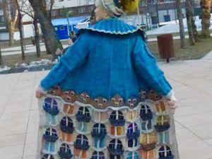 Пальто ручной работы Дом Гауди. Ярмарка Мастеров - ручная работа, handmade.